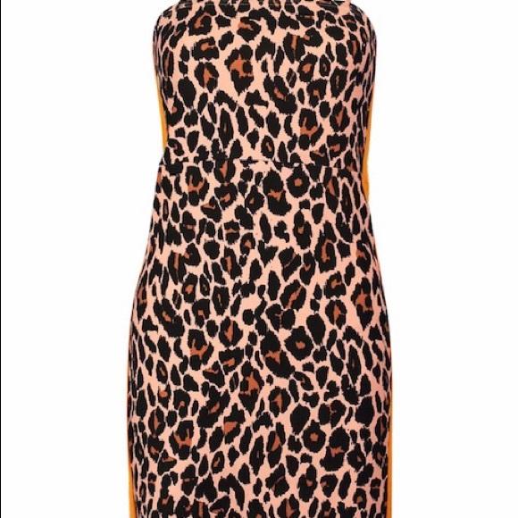 Dresses & Skirts - Leopard print square cut dress